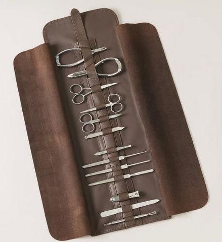 Lorenzi Milano - Trousse manucure-Lorenzi Milano-Roll on manicure set