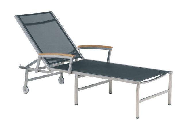 VIVENLA - Chaise longue de jardin-VIVENLA-Barclay