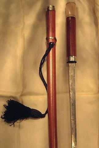 Antiquités Jantzen - Canne épée-Antiquités Jantzen