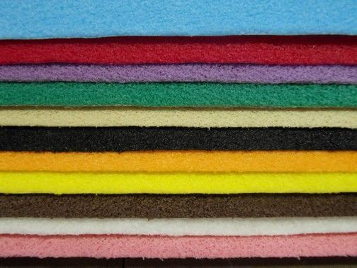 FEUTRINE- VELOURS - Mousse sur papier-FEUTRINE- VELOURS-Décovelle - au rouleau ou en pochettes
