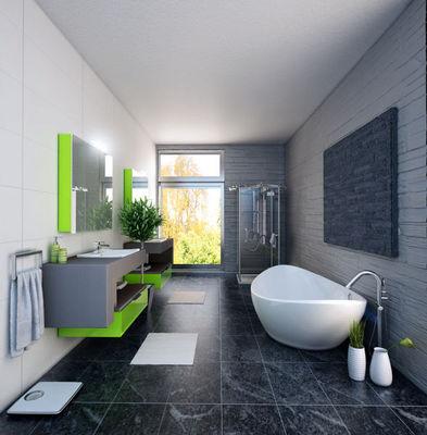 Atlantic Bain - Réalisation d'architecte d'intérieur - Salle de bain-Atlantic Bain-Mercure