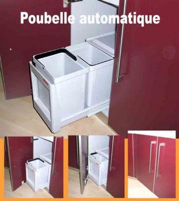 Ateliers De La Balme - Poubelle de cuisine coulissante-Ateliers De La Balme