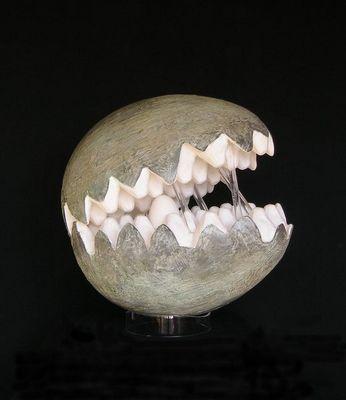 Miroirs et trumeaux Daniel Mourre - Sculpture-Miroirs et trumeaux Daniel Mourre-Machoire