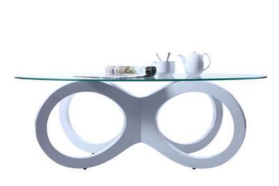 Miliboo - Table de repas ovale-Miliboo-BUTTERFLY TABLE BASSE