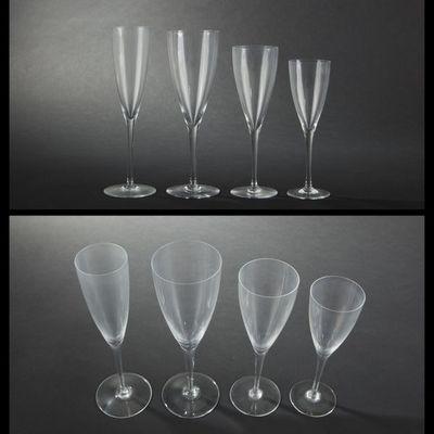 Expertissim - Service de verres-Expertissim-BACCARAT. Service de verres modèle Dom Pérignon