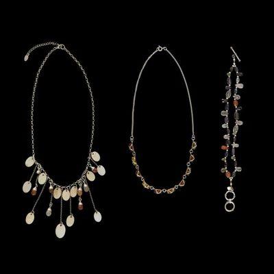 Expertissim - Collier-Expertissim-Ensemble de bijoux : deux colliers et un bracelet