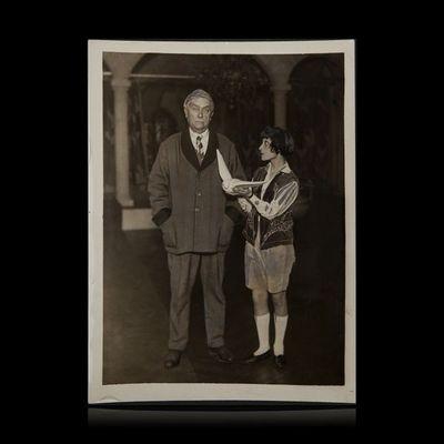 Expertissim - Photographie-Expertissim-MAETERLINCK Maurice (1862-1949). Répétition de l?O