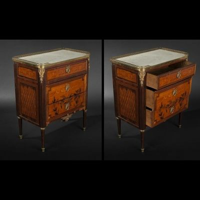 Expertissim - Commodine-Expertissim-Petite commode d'époque Louis XVI