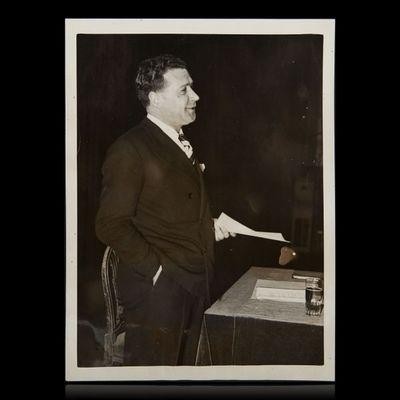 Expertissim - Photographie-Expertissim-SIMENON Georges (1903-1989). Photographie de press