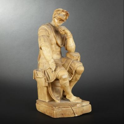 Expertissim - Sculpture-Expertissim-Statue de Laurent de Médicis en cire d'après Mich
