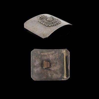 Expertissim - Médaille militaire-Expertissim-Rare plateau de ceinturon d?Officier