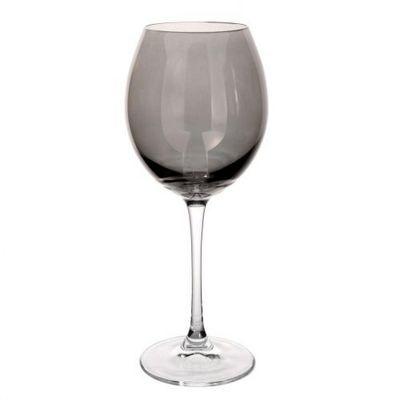 Maisons du monde - Verre à pied-Maisons du monde-Verre à vin gris Lustré