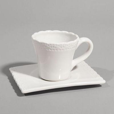 Maisons du monde - Tasse à café-Maisons du monde-Tasse à café Romance beige