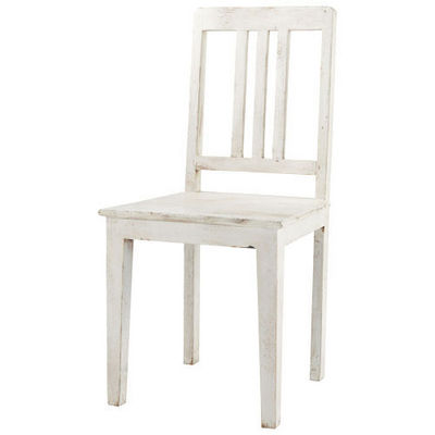 Maisons du monde - Chaise-Maisons du monde-Chaise blanche Avignon