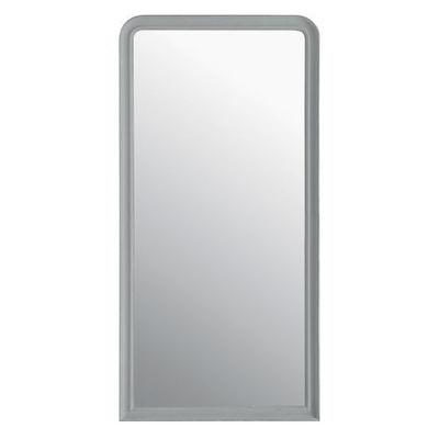 Maisons du monde - Miroir-Maisons du monde-Miroir Elianne arrondi gris 90x180
