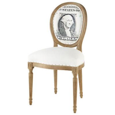 Maisons du monde - Chaise médaillon-Maisons du monde-Chaise Louis Dollar