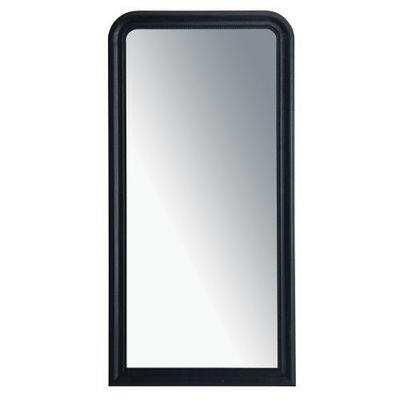 Maisons du monde - Miroir-Maisons du monde-Miroir Louis noir 80x160