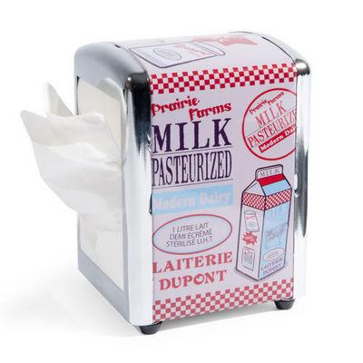 Maisons du monde - Porte-serviettes en papier-Maisons du monde-Distributeur de serviettes Laiterie