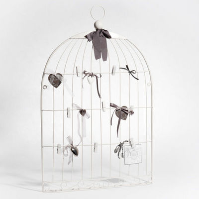 Maisons du monde - Pêle-mêle-Maisons du monde-Pêle-mêle Cage oiseau blanc