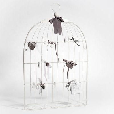 Maisons du monde - P�le-m�le-Maisons du monde-P�le-m�le Cage oiseau blanc