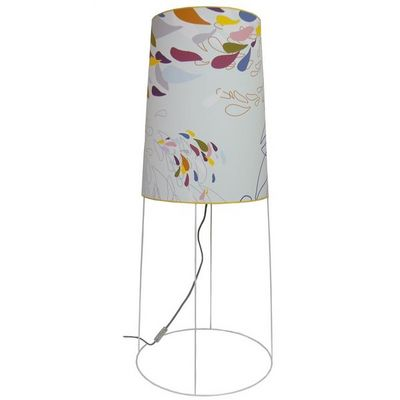 ATELIER R.BERNIER - Lampe à poser-ATELIER R.BERNIER-Grande lampe de salon PLUIE D'ETE