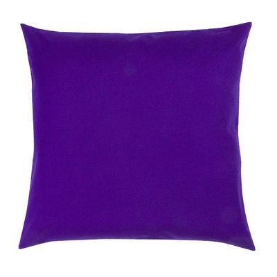 TROIS MAISON - Coussin carré-TROIS MAISON-COUSSIN EMPREINTE bleue 65 X 65 cm