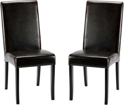ZAGO - Chaise-ZAGO-Chaise léa marron en bycast et bouleau 42x50x100cm