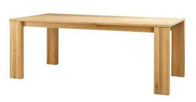 ZAGO - Table de repas rectangulaire-ZAGO-Table c�me en ch�ne massif 200x100x76cm