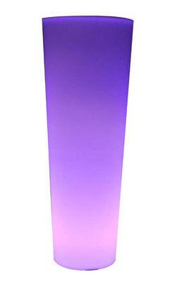 Jany - Lampe de jardin-Jany-Jardini�re nomade bor�ale 53x53x97cm