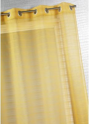 HOMEMAISON.COM - Voilage-HOMEMAISON.COM-Voilage fantaise � fines rayures