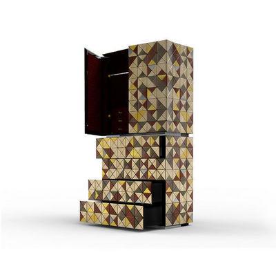 BOCA DO LOBO - Cabinet-BOCA DO LOBO-Pixel Anodized
