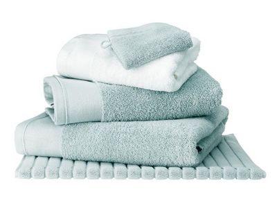 BLANC CERISE - Serviette de toilette-BLANC CERISE-Drap de bain Céladon - coton peigné 600 g/m² - uni