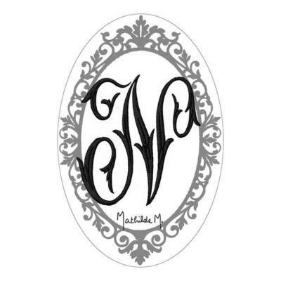 Mathilde M - Savon-Mathilde M-Savon Alphabet Monogramme N