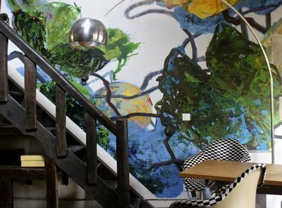 Fabienne Colin - Peinture murale-Fabienne Colin-Feuillage