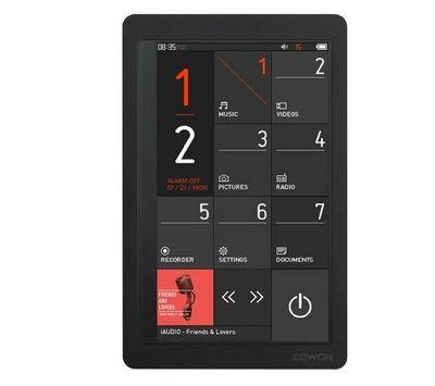 COWON - MP3-COWON-Lecteur MP4 FM COWON X9 16 Go - noir