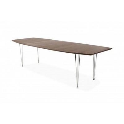 WHITE LABEL - Table de repas rectangulaire-WHITE LABEL-Table extensible design Musset