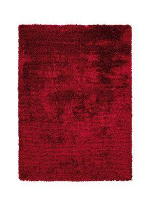 ESPRIT - Tapis contemporain-ESPRIT-Tapis de salon NEW GLAMOUR Rouge 170x240 en Acryli