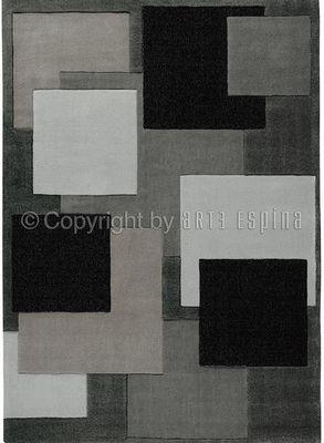 Arte Espina - Tapis contemporain-Arte Espina-Tapis de salon REFLECTIVE 6 gris 170x240 en Acryli