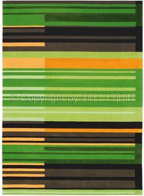 Arte Espina - Tapis contemporain-Arte Espina-Tapis de petit tapis COLOUR CODES vert 90x160 en A