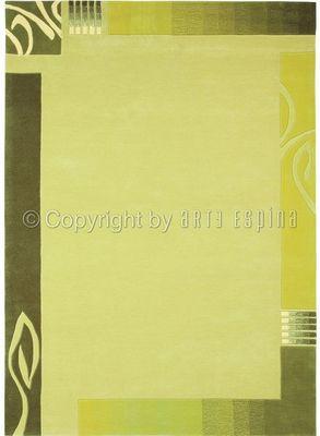Arte Espina - Tapis contemporain-Arte Espina-Tapis de salon EASY GOING 3 vert 170x240 en Acryli