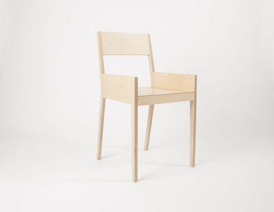 MALHERBE EDITION - Chaise de bureau-MALHERBE EDITION-Chaise C4