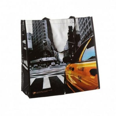 WHITE LABEL - Cabas-WHITE LABEL-Sac shopping New York City Flat Iron
