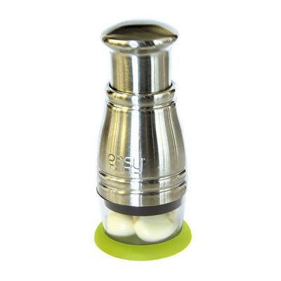WHITE LABEL - Presse-agrumes-WHITE LABEL-Hachoir efficacité top chrono en métal avec socle