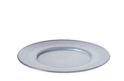 Leonardo - Assiette plate-Leonardo-Metallic