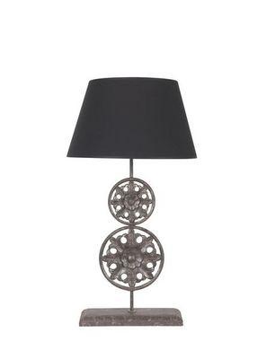 BLANC D'IVOIRE - Lampe à poser-BLANC D'IVOIRE-MILA PM