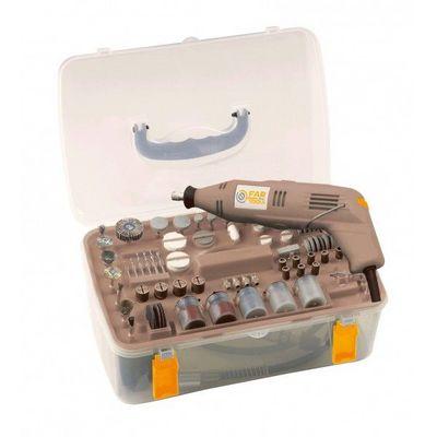FARTOOLS - Meuleuse-FARTOOLS-Mallette mini meuleuse avec 210 accessoires Fartoo