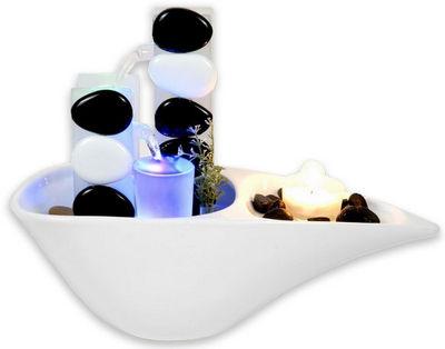 ZEN LIGHT - Fontaine d'int�rieur-ZEN LIGHT-Fontaine d'int�rieur Piro avec �clairage Led Mult