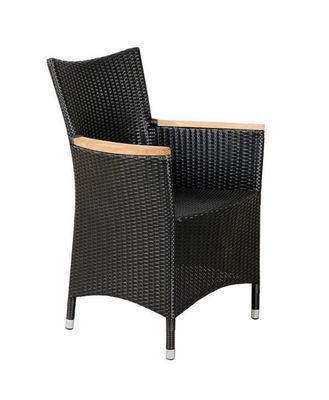 Aubry-Gaspard - Chaise de jardin-Aubry-Gaspard-Fauteuil en polyrésine