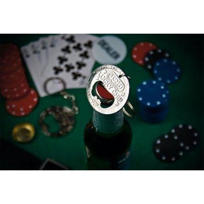 INVOTIS - Décapsuleur-INVOTIS-Ouvre bouteille jeton de poker