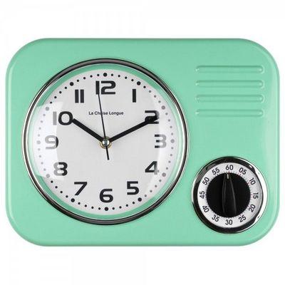 La Chaise Longue - Minuteur-La Chaise Longue-Horloge minuteur vert